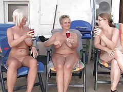 Lesbian matured plus grannies