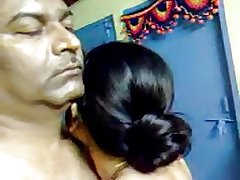 Low-spirited Homemade Indian Adult Hairy Couple Strive Awesome Sex