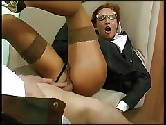 Clothed Business Full-grown Fucked In The Ass