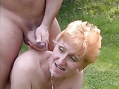 Tall Redhead German Full-grown fucked in the squeaker