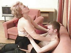 Russian dam is fucked at the end of one's tether her little shaver