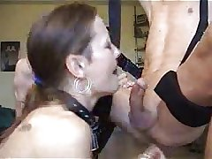 Matured Deepthroating and Swallowing