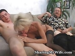 Mature Couple Almost 3some Sex Sport