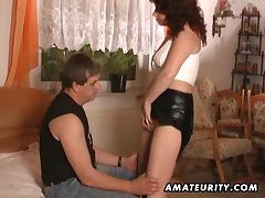 Mature cosset Cindy Dollar Bristols bouncing while screwing