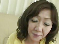 Japanese Chubby Heavy clit Mature Eriko Nishimura 51years