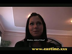 Casting - Gorgeous teen in foreign lands creampie