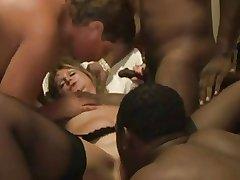 Dabbler - Mature MMMF IR Bareback Creampie Foursome