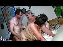 OldNanny Chubby mature and big milf have threesome sexual intercourse