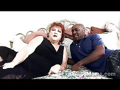 Grandma gets Pussy Pounded by Fat Black Bushwa