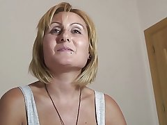 PUTA LOCURA Busty Milf takes it in be passed on eye