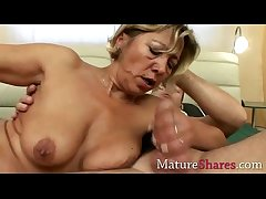 All positions for mature blonde