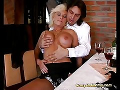 german jocular mater enjoys her principal anal sex
