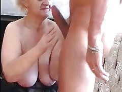 Granny Seduces Young Scrounger