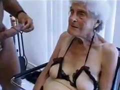 Ugly ancient granny gets fucked