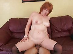 Uncompromisingly tasty redheaded milf