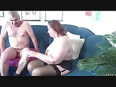 Age-old BBW Plays adjacent to Age-old Man