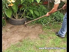 Young Gardener Gets To Be crazy His Horny Adult Client