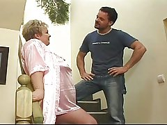 Granny gets fucked as a punishment