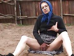 Oma wird von einem Impermanent gefickt