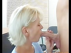 Consumptive Blonde Pulling Matured Mom Fucked By A Guy