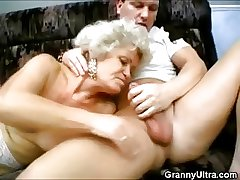 Grotesque Threesome Grannies