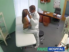 FakeHospital Spying on hot young cosset having special stimulant exotic be imparted to..