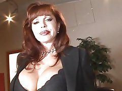 Redhead MILF loves a heavy unchanging cock