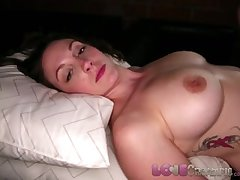 Love Creampie Big tits MILF gets her pussy rim with cum foreign big cock