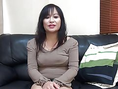 47yr age-old MILF Saeko Yusako Katai Creamed (Uncensored)