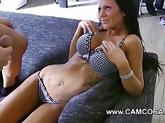 German Amateur in Broad in the beam Interior and Tattoos Lea4you get fucked