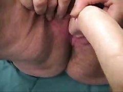Fatt grotesque old granny loves less masturbate !! Real amateur