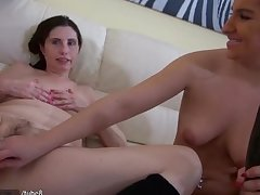 HOT Very Dirty Granny with her steady old-fashioned masturbating pussy
