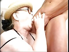 Granny in Glasses Loves A Belt