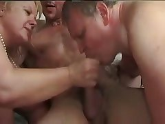 Bisexual Couple Share a Hot Trio