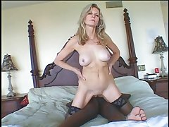 Sexy GILF Baruska getting fucked hard by frowning man