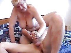 granny fucks a boy