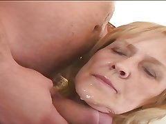 Oversexed Granny Adriana loves to fuck!