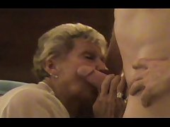 InterracialPlace.org - Granny cuckold wife watched by husband
