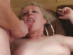 Granny in Deathly Stockings Fucks Old Pauper