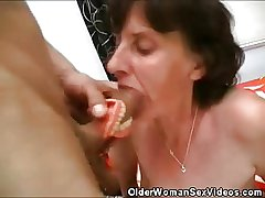 Old Woman Dentures And Cock Sucking