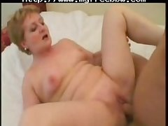Chubby Run through Titted Granny Fucks BBW fat bbbw sbbw bbws bbw porn plumper..