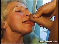 Mad age-old nourisher gets big cock oral and back pussy deep