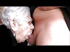 Grany Marge gets house-servant cock for her 90th birthday