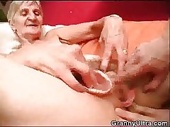 Granny Fucked As Timber Primate Her Dentures
