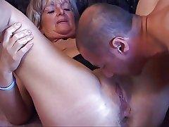 Granny Gets A Irritant Throb