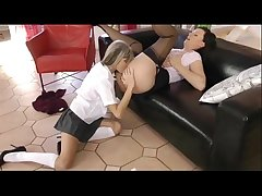 lesbian teacher has mating concerning her young teen pupil